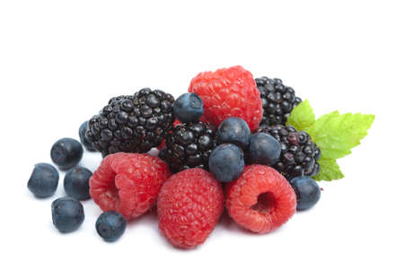blue berry: fresh berries isolated