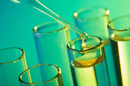 test tubes and pipette Stock Photo - 7431208