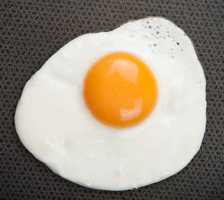 fried egg over pan Stock Photo - 7858469