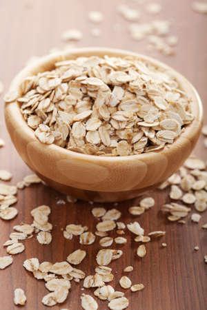 oatmeal bowl: oat flakes