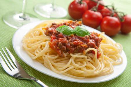 spaghetti bolognese Reklamní fotografie - 8080807
