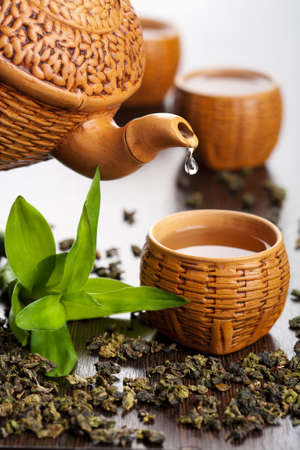 groene thee  Stockfoto