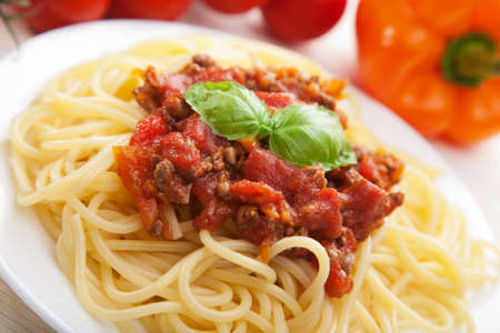 spaghetti bolognese Stock Photo - 8731644