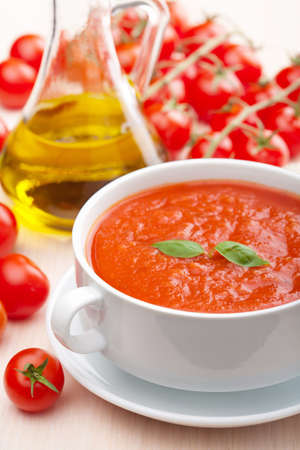 basils: tomato soup