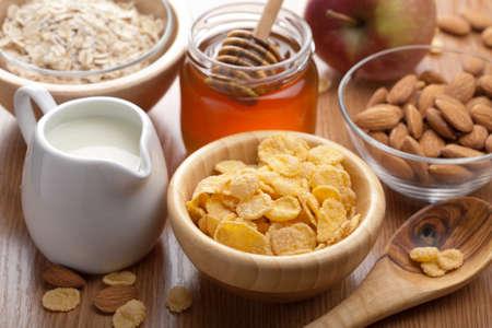 calcium: healthy breakfast