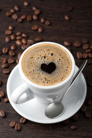 dejeuner: tasse de caf�