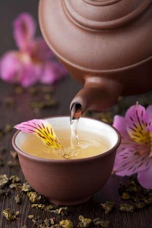 chinese teapot: herbal tea