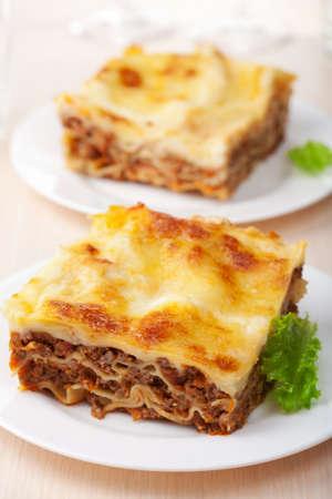 lasagna: bolo�esa Lasa�a