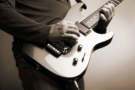 rock guitarist  photo