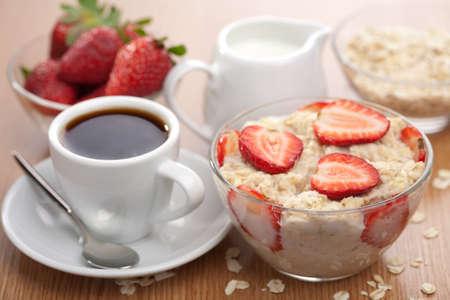 oatmeal: healthy breakfast