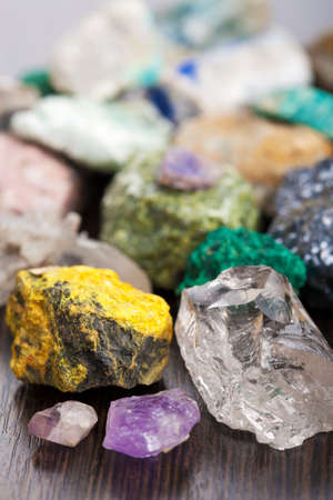 various minerals  Stock Photo