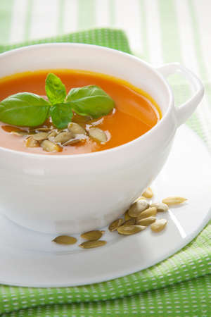 cremoso: sopa de verdura