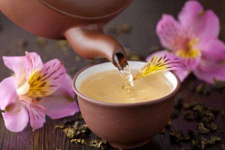 tea crop: herbal tea