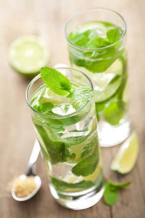 fresh mojito cocktail  photo