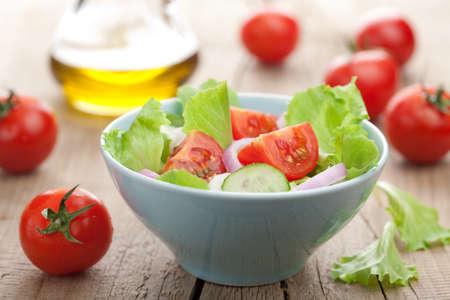 新鮮なサラダ 写真素材