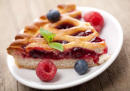 berry pie  photo
