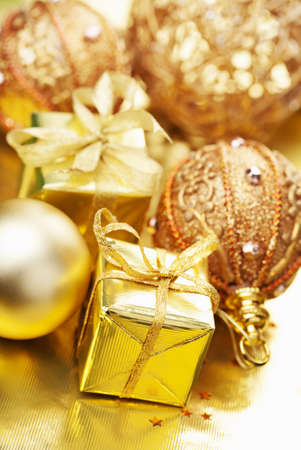 christmas gifts and decoration Stock Photo - 11099271