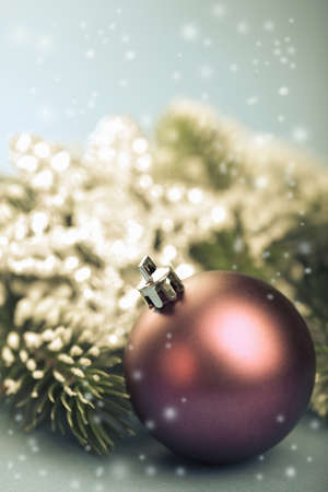 retro christmas decoration photo
