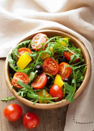 fresh vegetable salad Stock Photo - 12446707