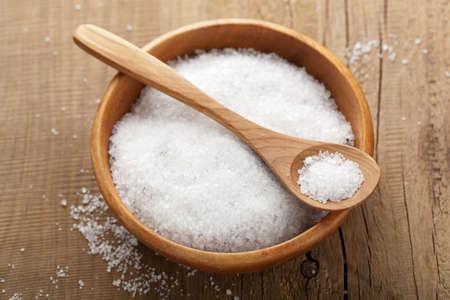 crystal bowl: sea salt