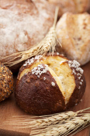 wholemeal: healthy bread  Stock Photo