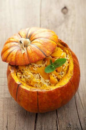 risotto: pumpkin risotto