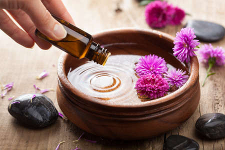 essential oil: essential oil for aromatherapy