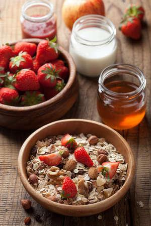 healthy breakfast Stock Photo - 15163486