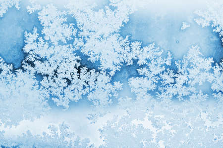 hoar: winter rime background