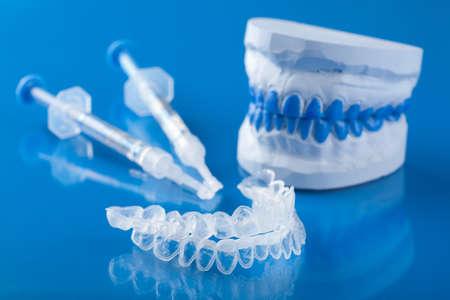 individuele set voor het bleken van tanden