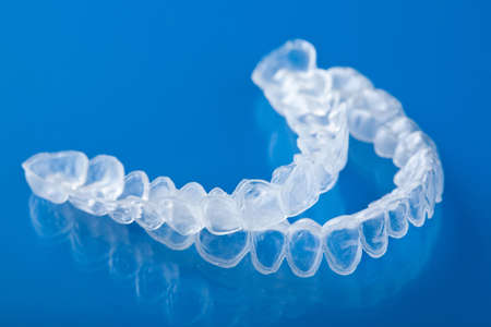 dental clinic: individual tooth tray for whitening
