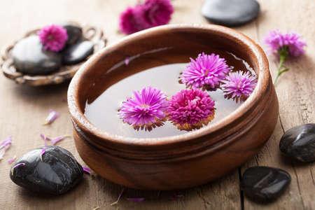 stone bowl: spa and aromatherapy set