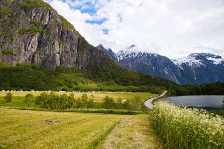 Norwegian landscape Stock Photo - 17376927