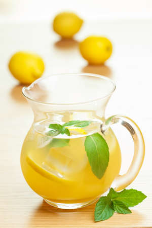 fresh lemonade  photo