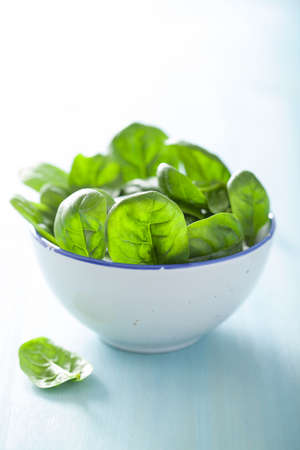 'baby spinach': baby spinach leaves in bowl