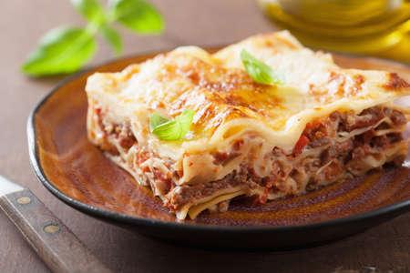 lasagna bolognese  Stockfoto