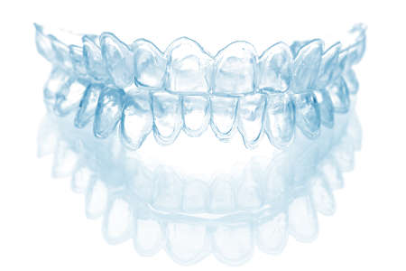 individual tooth tray for whitening isolated