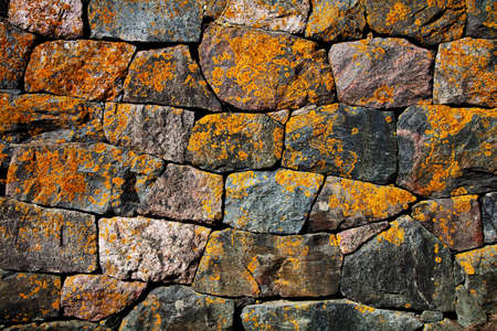 rudeness: abstract stone wall background
