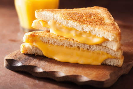 sandwich bread: grilled cheese sandwich for breakfast