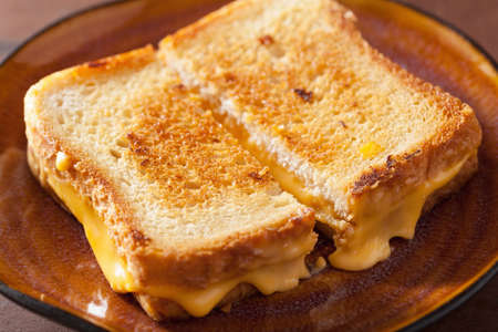 cheese: grilled cheese sandwich for breakfast