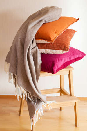 throw cushion: colorful cushion throw cozy home mood