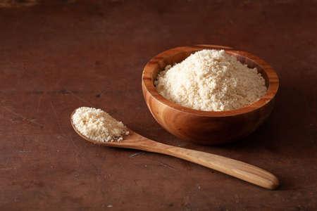 almond flour. healthy ingredient for keto paleo gluten-free diet Reklamní fotografie