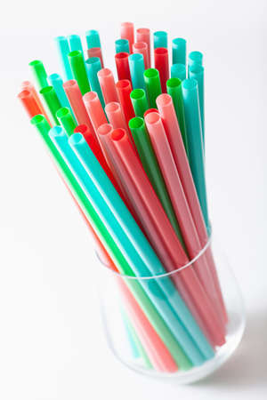Single use plastic drinking straws