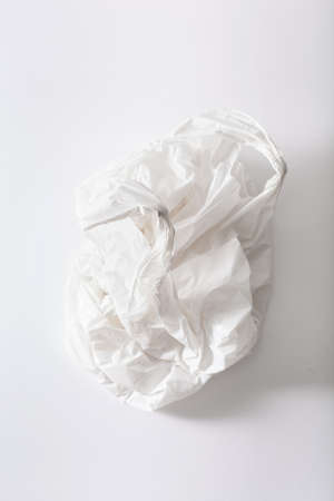 Disposable plastic bag, waste, recycling, environmental issues Stock Photo - 125024035