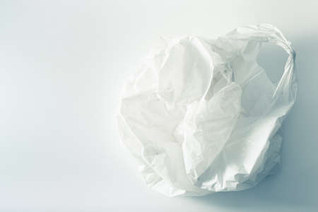 disposable plastic bag, waste, recycling, environmental issues Stock Photo