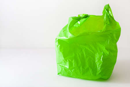disposable plastic bag, waste, recycling, environmental issues 写真素材