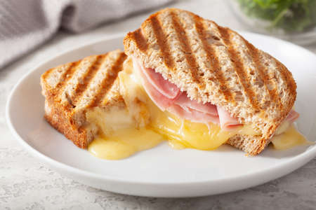 grilled ham and cheese sandwich Reklamní fotografie - 150122216
