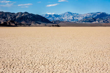 The Racetrack in Death Valley, California