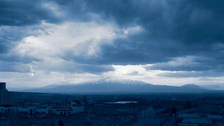 Ararat mountain in Armenia, Yerevan
