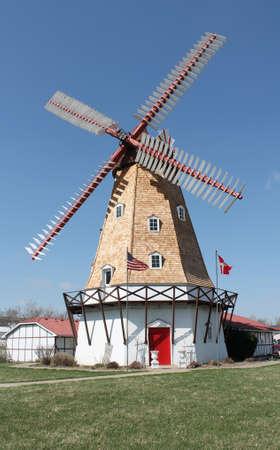 Authenic Danish Windmill Banco de Imagens - 13000446